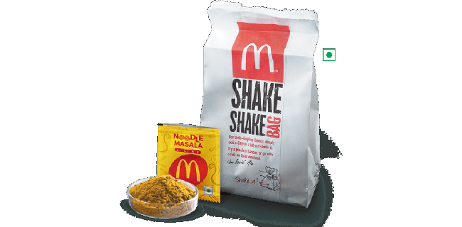 McDonald's India – North and East adds Noodle Masala to its World-Famous Fries and Chicken McNuggets