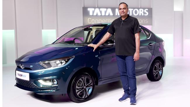 Tata Motors drives in the All New Tigor EV Sedan with Ziptron technology