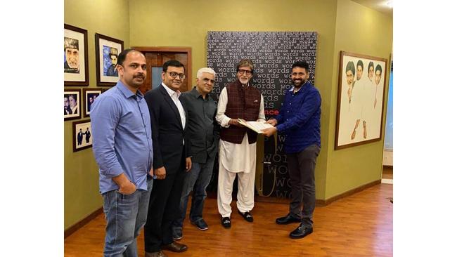 Amitabh Bachchan Launches NFT with Rhiti Entertainment's platform BeyondLife.club