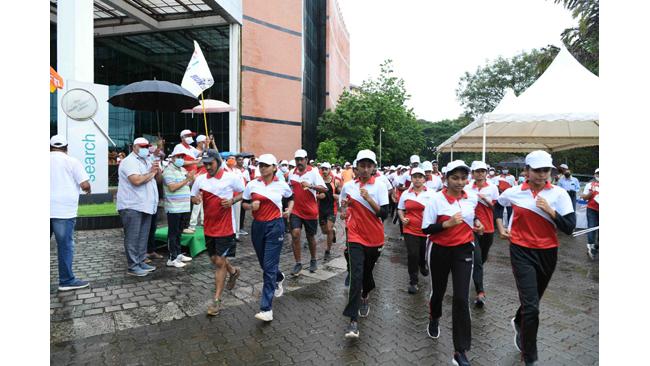 MAHE's 75-km marathon event 'Fit Raho Udupi' flagged-off in Manipal