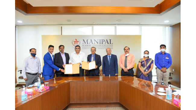 Path breaking Industry-Academic collaborations at Manipal College of health professions (MCHP), MAHE Manipal