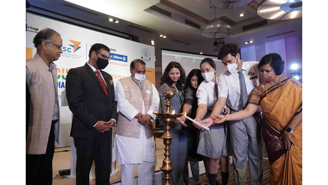 MEPSC and Think Start-up join hands to launch India@75 Youth Ideathon for Classes 6-12