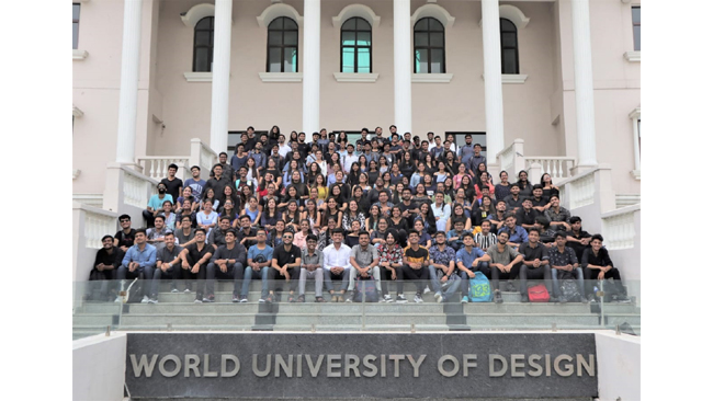 """Lecture Series """"Speculative Futures"""" by World University of Design  to guide future graduates to futuristic Thinking"""
